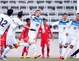 Đội tuyển Việt Nam đá giao hữu với Kyrgyzstan trước cuộc đấu Malaysia