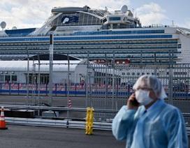 621 người nhiễm virus corona trên du thuyền ở Nhật Bản
