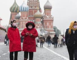 """Nga cấm công dân Trung Quốc nhập cảnh giữa """"bão"""" dịch corona"""