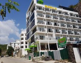 Biệt thự xây sai quy hoạch tại dự án Ocean View Nha Trang đã hoàn thiện