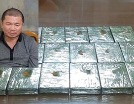 Phá án ma túy, bắt đối tượng ôm 17 bánh heroin lên tàu Bắc - Nam