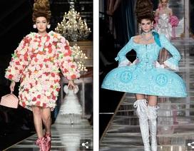 Gigi Hadid và dàn người mẫu mặc váy lạ mắt