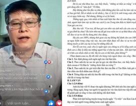 """Học sinh Vĩnh Phúc viết về """"người thầy dũng sĩ"""" trong """"bão dịch"""" Covid-19"""