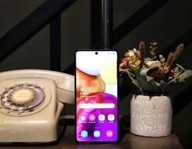 Galaxy A71 giá 9,99 triệu đồng, trả góp 0% duy nhất chỉ có tại Viettel Store
