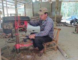 Phó giám đốc bỏ việc về quê làm nghề mây tre đan