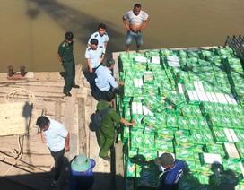 Khởi tố vụ buôn lậu nước giải khát có giá trị trên 8,6 tỷ đồng