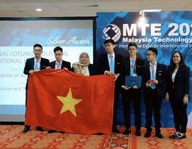 Học sinh Việt Nam đạt huy chương Bạc cuộc thi Sáng kiến và Đổi mới Quốc tế
