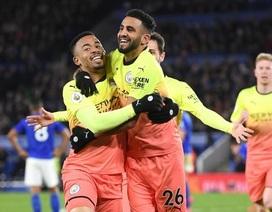Leicester 0-1 Man City: Aguero sút hỏng phạt đền, Jesus thành người hùng