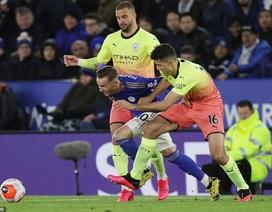 Những khoảnh khắc chiến thắng của Man City trên sân Leicester