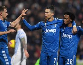 C.Ronaldo đều đặn nổ súng, Juventus xây chắc ngôi đầu