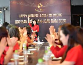 Mạng lưới Nữ lãnh đạo toàn cầu Happy Women Leader Network họp Ban điều hành đầu năm 2020