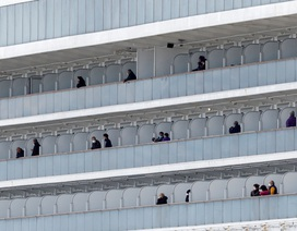 """Nhật Bản loay hoay khi """"thả nhầm"""" khách du thuyền bị nhiễm virus corona"""