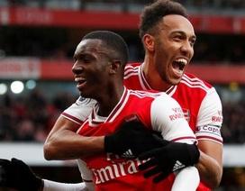 Arsenal 3-2 Everton: Cú đúp của Aubameyang