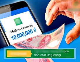 """Vay tiền online: Mất tiền oan vì """"chiêu"""" qua mặt người dùng"""