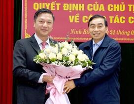 Ninh Bình bổ nhiệm Giám đốc Sở Nội vụ và Sở Kế hoạch và Đầu tư