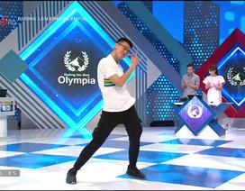 Màn nhảy Kpop dẻo như vũ công của thí sinh Olympia khiến khán giả trầm trồ