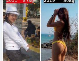 """Yến Xuân mở cuộc bình chọn vóc dáng, khoe """"lột xác"""" sau 9 năm"""