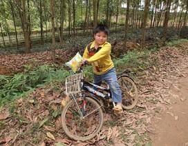 Bạn đọc Dân trí tặng cậu bé mồ côi chiếc xe đạp và 102 triệu đồng