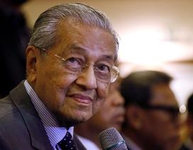 Ông Mahathir làm thủ tướng lâm thời Malaysia sau khi từ chức