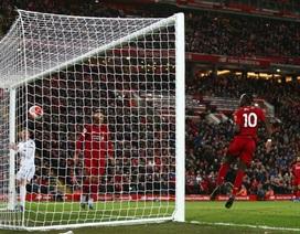 Liverpool cân bằng kỷ lục 18 trận toàn thắng liên tiếp của Man City