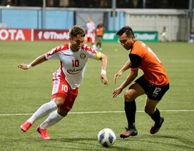 Báo châu Á tôn vinh hai cầu thủ CLB TPHCM tại AFC Cup