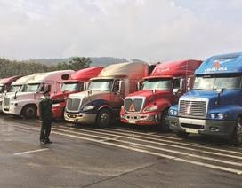 Thông quan ngày càng khó, lượng nông sản tồn ở cửa khẩu vẫn hàng trăm xe