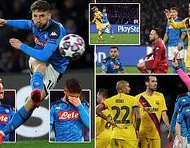 Napoli 1-1 Barcelona: Messi nhạt nhòa, Griezmann lập công