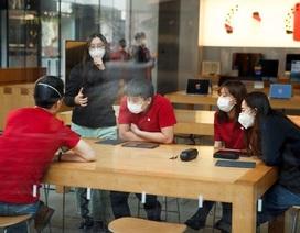 Apple mở lại nhiều cửa hàng ở Trung Quốc bất chấp dịch Covid-19