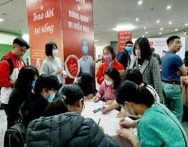 Doanh nghiệp đăng ký cho CBCNV tham gia hiến máu