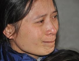 Người mẹ nghẹn ngào cầu xin các nhà hảo tâm cứu con