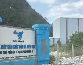 Nhà máy bột đá bị phạt 300 triệu đồng vì thiếu đánh giá tác động môi trường