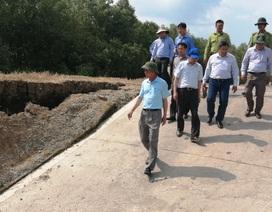 Thứ trưởng Bộ Nông nghiệp kiểm tra hạn, mặn tại Cà Mau