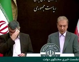Biểu hiện bất thường của Thứ trưởng Iran trước khi bị xác nhận nhiễm corona