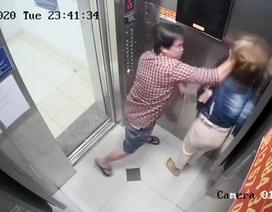 """Một phụ nữ bị đánh """"tả tơi"""" trong thang máy ở Sài Gòn"""