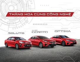 Trải nghiệm công nghệ trên 3 xe sedan của Kia