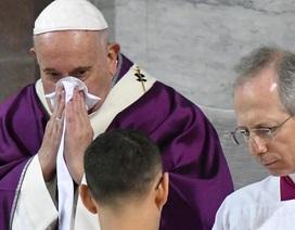 """Giáo hoàng Francis hủy lịch trình vì mắc """"bệnh nhẹ"""""""