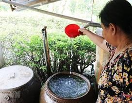 Người dân miền Tây nhịn tắm vì thiếu nước sinh hoạt