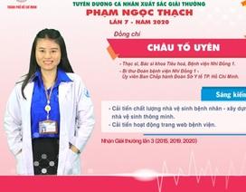Hai thầy thuốc trẻ 3 lần được trao giải thưởng Phạm Ngọc Thạch