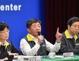 Đài Loan nâng mức ứng phó dịch corona lên cao nhất