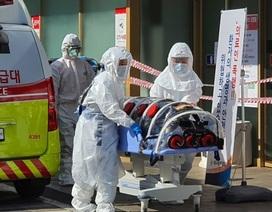 Số người nhiễm Covid-19 ở Hàn Quốc tăng vọt lên gần 1.800