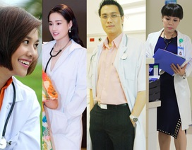 Ngắm Việt Anh, Nhã Phương, Việt Hương và loạt sao hoá thân thành bác sĩ