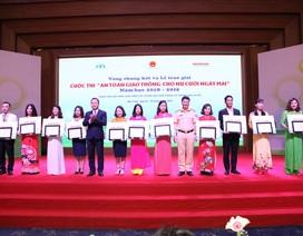 """Sáng tạo trong tổ chức cuộc thi """" An toàn giao thông cho nụ cười ngày mai"""" năm học 2019 - 2020"""