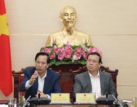 Bộ trưởng Đào Ngọc Dung: Tháo gỡ hồ sơ thanh niên xung phong còn tồn đọng