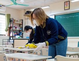 Bộ Y tế khuyến cáo trường học không bật điều hòa, ngày 2 lần khử khuẩn