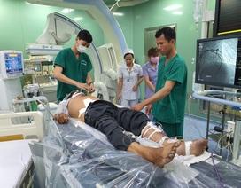 Cứu bệnh nhân chỉ còn cơ hội sống 5% trong ngày Thầy thuốc Việt Nam