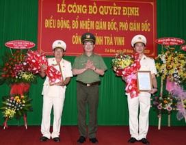 Trà Vinh có tân giám đốc, phó giám đốc công an tỉnh