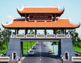 Huyện xây cổng chào 6 tỷ đồng nhưng không biết tồn tại đến bao giờ