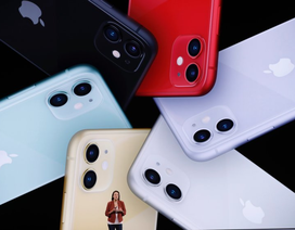 Apple độc chiếm Top 5 smartphone bán chạy nhất thế giới