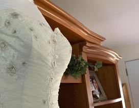 """""""Xúc động"""" người mẹ quyên tặng váy cưới của con gái mất vì ung thư"""