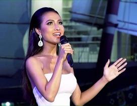 Hoài Sa lọt top 2 phần thi Tài năng Hoa hậu Chuyển giới